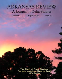 front cover: July sunset