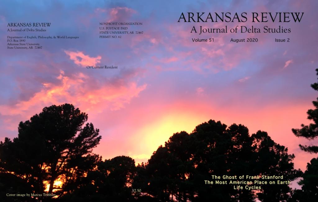 full cover: July sunset